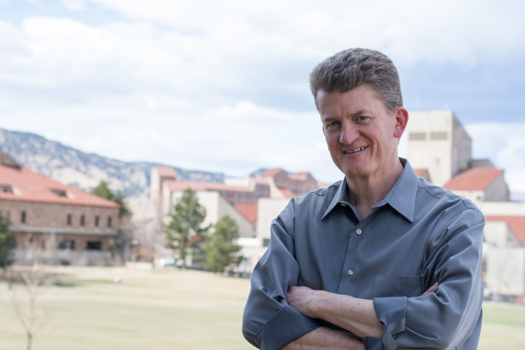 Image - David at CU Boulder