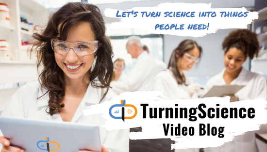 TurningScience video blog